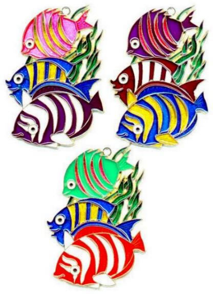 Fish Trio - Suncatcher