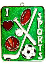 I Love Sports - Night Light