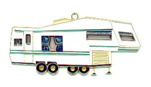 5th Wheel Camper - Night Light