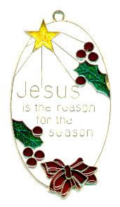Jesus is the Reason - Suncatcher