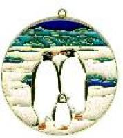 Penguins - Suncatcher