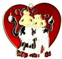 Two Cows in Heart - Night Light