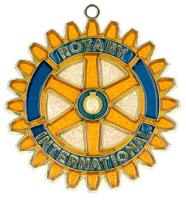 Rotary International - Suncatcher